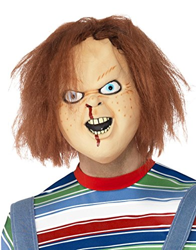 Childs Play Costume Accessory, Masque Chucky Homme