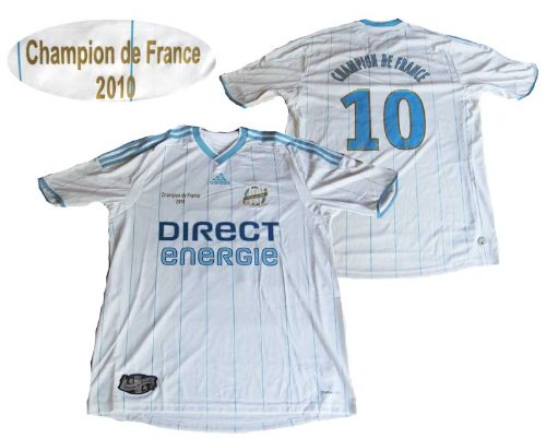 adidas Olympique Marseille Trikot Home 2009/10 Champions Edition Gr.M