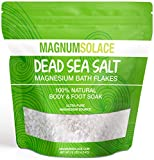 Magnesium Bath Flakes, Large 10 LBS Exceptional #1 Therapeutic Source for Body & Foot Soaks (10 Pounds)