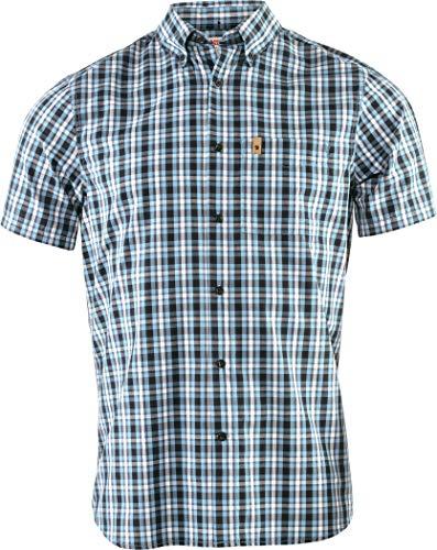 Fjallraven, Övik Shirt SS M Chemise Homme, Crépuscule, XXL