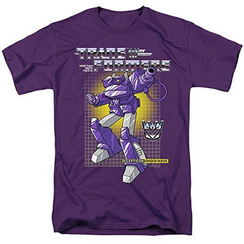 Transformers T-Shirt Shockwave Purple Tee, Small