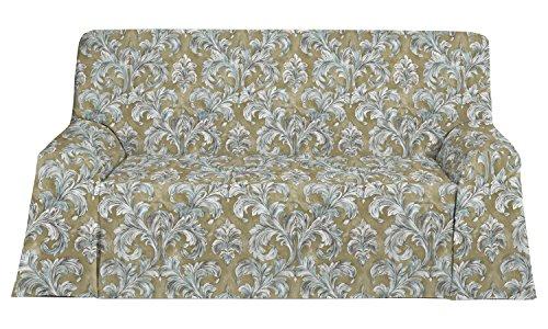 Martina Home Prato sjaal, stof, 270 x 180 x 1 cm, goudkleurig