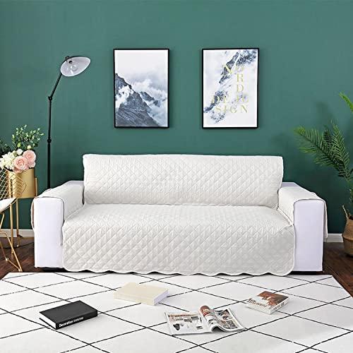 Fundas de sofá impermeables mejoradas para mascotas, perros, funda de sofá reversible para sofá de dos plazas para sala de estar, fundas de sofá protectoras de muebles para perros mascotas,negro(C