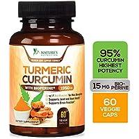 Turmeric Curcumin Highest Potency 95% Curcuminoids 1950mg