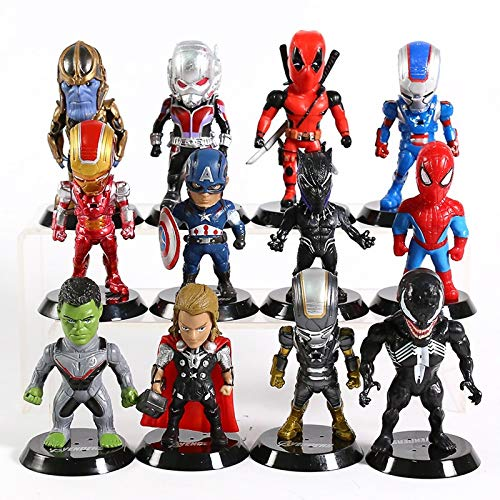 Los Vengadores De Marvel, Iron Man Y Deadpool, Veneno De Hombre, Araña,...