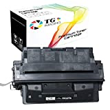(1-Pack, Super High Yield) TG Imaging Compatible Toner Cartridge Replacement for HP 27X C4127X use in HP Laser Jet 4000 4000N 4000T 4050 4050N LBP-1760 Printer (10,000 Pages)