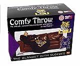 Northwest LSU Tigers Fleece Comfy Throw - The Blanket with Sleeves