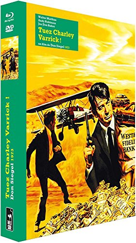 Tuez Charley Varrick [Édition Collector Blu-Ray + DVD + Livre]