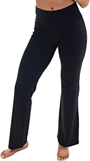 Spalding Women's Misses Activewear High Waisted Bootleg Yoga Pant