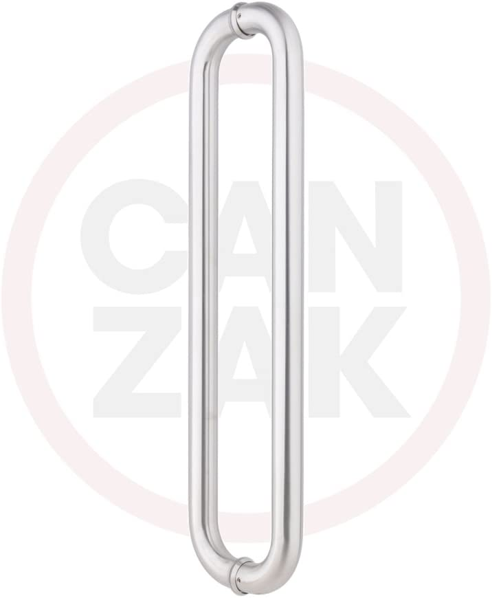 Canzak 40% OFF Cheap Sale 12 inch Door Handle Push I Steel Pull Stainless Brushed Recommended