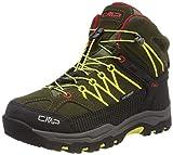 CMP Rigel Mid, Zapatos de High Rise Senderismo Unisex Adulto, Verde (Olive-Bamboo 00fc), 34 EU