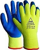 strongant–Snow Master, guantes de trabajo Guantes de invierno térmicos para montaje. Guante sin costuras acrílico tricotado, protección contra peligros mecánica, kühlhaus, protección contra el frío