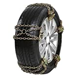 Snow Chains, Anti Slip Snow Tire Chains Tire Chain for Passenger Cars, Car Snow Chain for Trucks Minivan Pickup SUV/ATV/UTV Winter Universal Tire Blocks