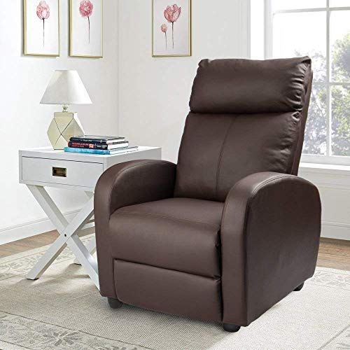 Homall Single Recliner Chair Padded...