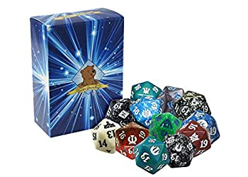 Magic  The Gathering Spindown Lot of 10 Spindowns! Includes Golden Groundhog Deck Box!