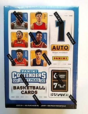 2020-21 Panini Contenders Draft Picks Basketball BLASTER Box (42 cards/box)