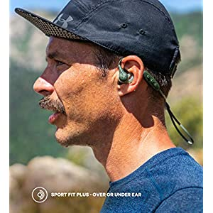 Jaybird X4 Wireless Bluetooth Headphones for Sport, Fitness and Running, Compatible with iOS and Android Smartphones: Sweatproof and Waterproof - Storm Metallic/Glacier