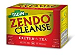 Tadin Herb & Tea Co. Zendo Cleanse Tea, Caffeine Free, 24 Tea Bags, Pack of 6