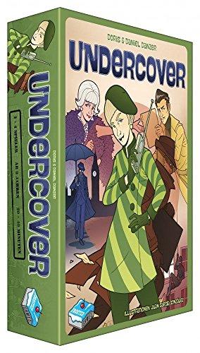 Frosted Games FRG00005 Kartenspiel Undercover