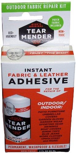 (A, 1 - Pack) - Tear Mender TM-OD Bish's Outdoor Fabric Repair Kit, 60mls