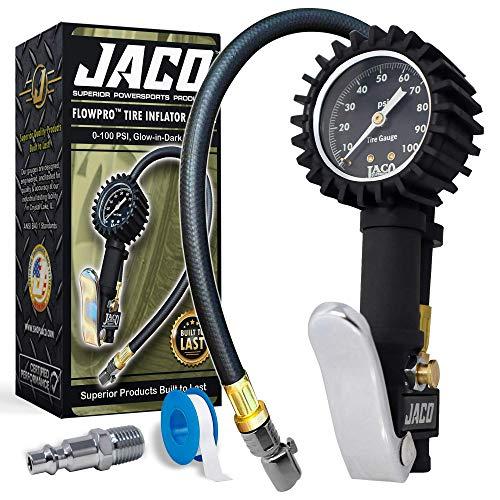 JACO Flow Pro Inflator Gauge- 100 PSI