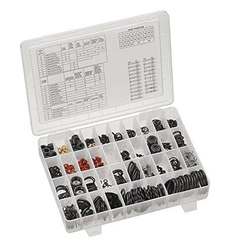 Lezyne Ersatzteile Tackle Box FÜR FUß-UND HANDPUMPEN O-Ringe, Y8 Parts, 1-RP-TBOX-V3 Pumpen/Stand- & Fusspumpen, schwarz, 1