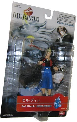 Zell Dincht EXTRA SOLDIER Final Fantasy VIII 6 Action Figure by Final Fantasy