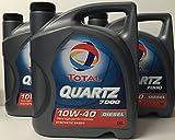 Total Quartz 7000 Diesel 10W40 15 litros (3x5 litros)