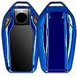 kwmobile Autoschlüssel Hülle kompatibel mit BMW Display Key Autoschlüssel - TPU Schutzhülle...