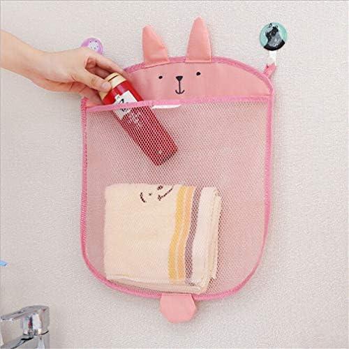 GloryMM Cartoon Hanging Bag Bath Toy Organizer Storage Holder Shark Quick Dry Mesh Bag for Bathtub product image