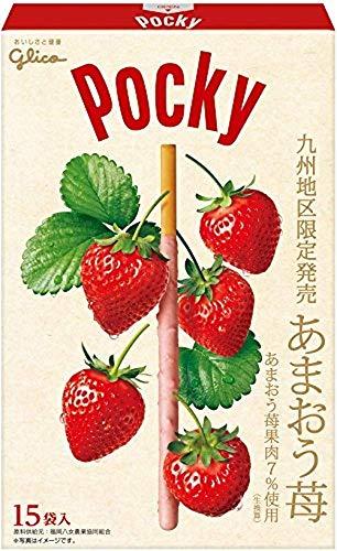 江崎グリコ ジャイアント ポッキー あまおう苺 15袋 ×2箱