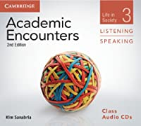 Academic Encounters Level 3 Class Audio CDs (3) Listening and Speaking: Life in Society