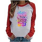 Sudadera para Mujer, 2021 Otoño Invierno Señoras Año Nuev