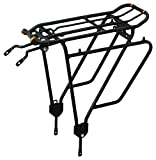 Ibera Bike Rack - Bicycle Touring Carrier Plus+ for Non-Disc Brake Mount, Frame-Mounted...