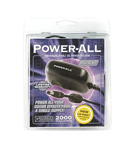 Godlyke Power-All PA-9DEU Deluxe Kit European Guitar Effects Pedal Power Supply Adapter (PA-9D-EU)