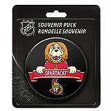 Ottawa Senators Team Mascot NHL Souvenir Puck -