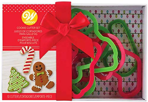 Wilton Ausstechformen aus Kunststoff, in Geschenkverpackung, 10 Stück