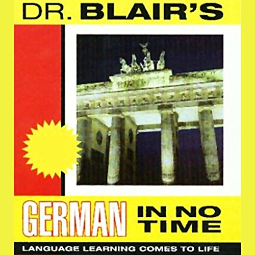 Dr. Blair's German in No Time audiobook cover art
