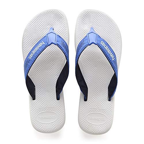 Havaianas Herren Surf Pro Zehentrenner, Weiß (White/Blue Star), 45/46 EU