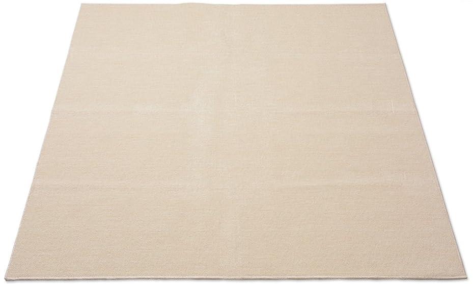 屈辱するマントル拒絶抗菌カーペット 江戸間 6畳 261×352cm ライトベージュ 1134000080616