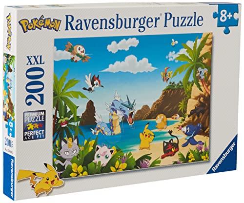 Ravensburger Puzzle, Pokemon, Puzzle 200 Piezas XXL, Puzzles para Niños, Edad Recomendada 8+, Rompecabeza de Calidad