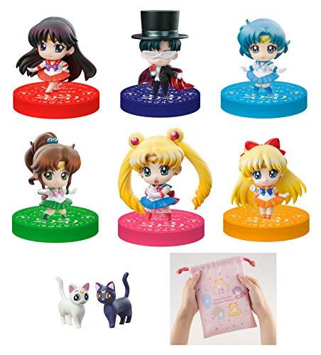 7pcs//set 5.5cm Sailor Moon Dark Kingdom Model Doll Toy PVC Figure New NoBox
