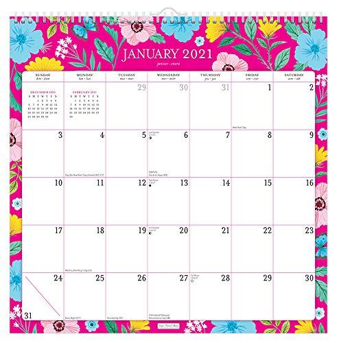 Bonnie Marcus 2021 12 x 12 Inch Monthly Square Wall Calendar, Fashion Designer Stationery