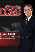 Charlie Rose with Bob Schieffer; Jon Lee Anderson; Graydon Carter (October 4, 2004)