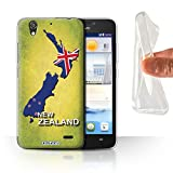 Stuff4 Phone Case for Huawei Ascend G630 Flag Nations New