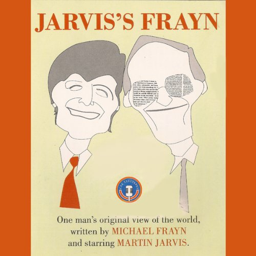 Jarvis's Frayn audiobook cover art