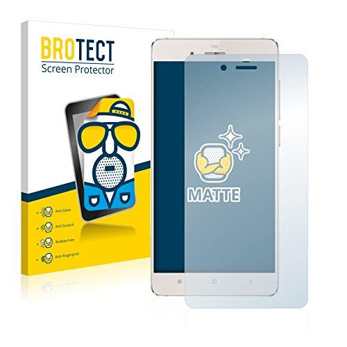 BROTECT 2X Entspiegelungs-Schutzfolie kompatibel mit Doogee Europa F3 Bildschirmschutz-Folie Matt, Anti-Reflex, Anti-Fingerprint