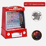 GOPLUS Münzschieber Spielautomat, Geldspielautomat Mini, Spielhallen Automat, Coin Pusher Münzen,...