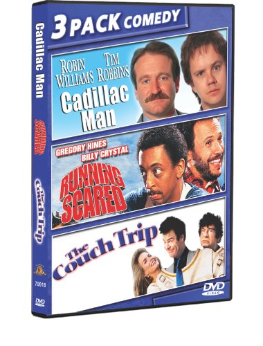 Cadillac Man (1990) / The Couch Trip (1988) / Running Scared (1986) (Triple Feature)