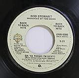Rod Stewart 45 RPM Da Ya Think I'm Sexy? / Ain't Love A Bitch